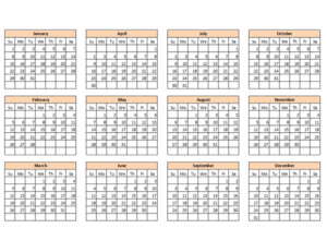 Calendar Creator (Any Year) Feature Image