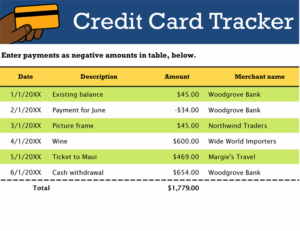 Credit Card Tracker Feature Image