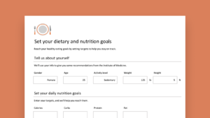 Nutrition tracker Feature Image