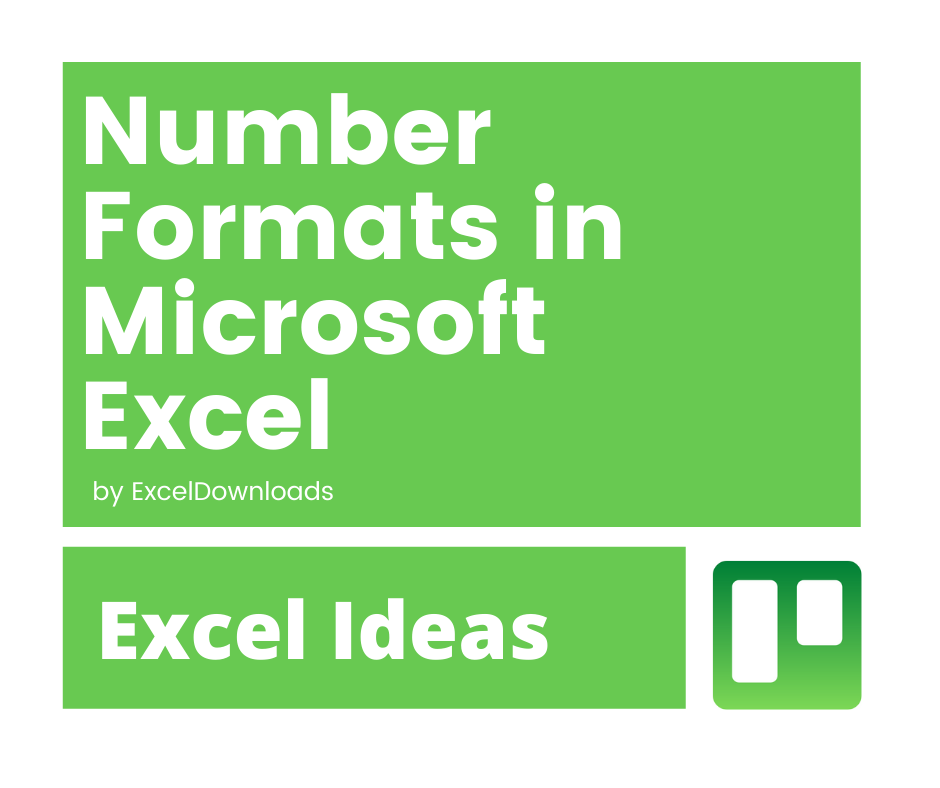 Number Formats in Microsoft Excel Feature Image